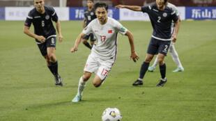 China beat Guam 7-0 on Sunday