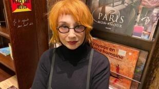 Mísia. Paris, 9 de Janeiro de 2020.