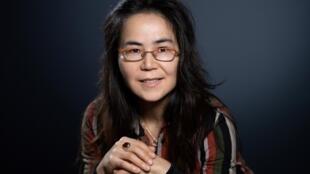 Dilnur Reyhan, enseignante en ouïghour à l'Inalcoet chercheuse à l'Université libre de Bruxelles