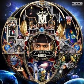 Pochette de l'album de Black M « Les yeux plus gros que le monde ».