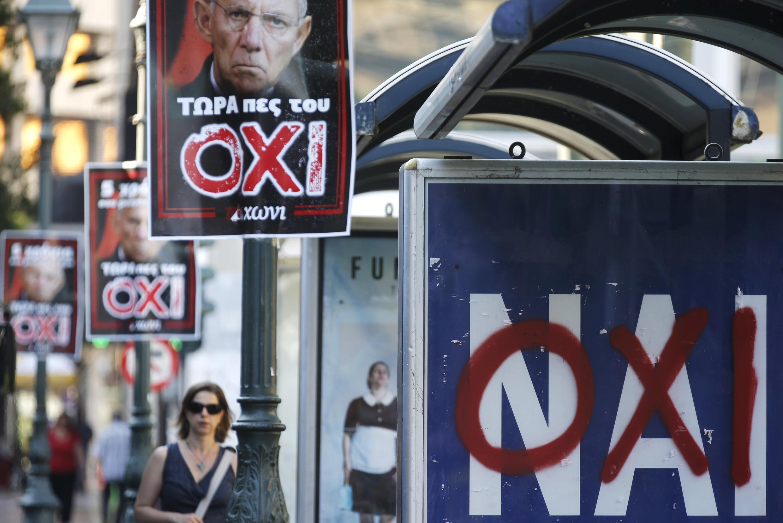 Athènes, le 3 juillet 2015.