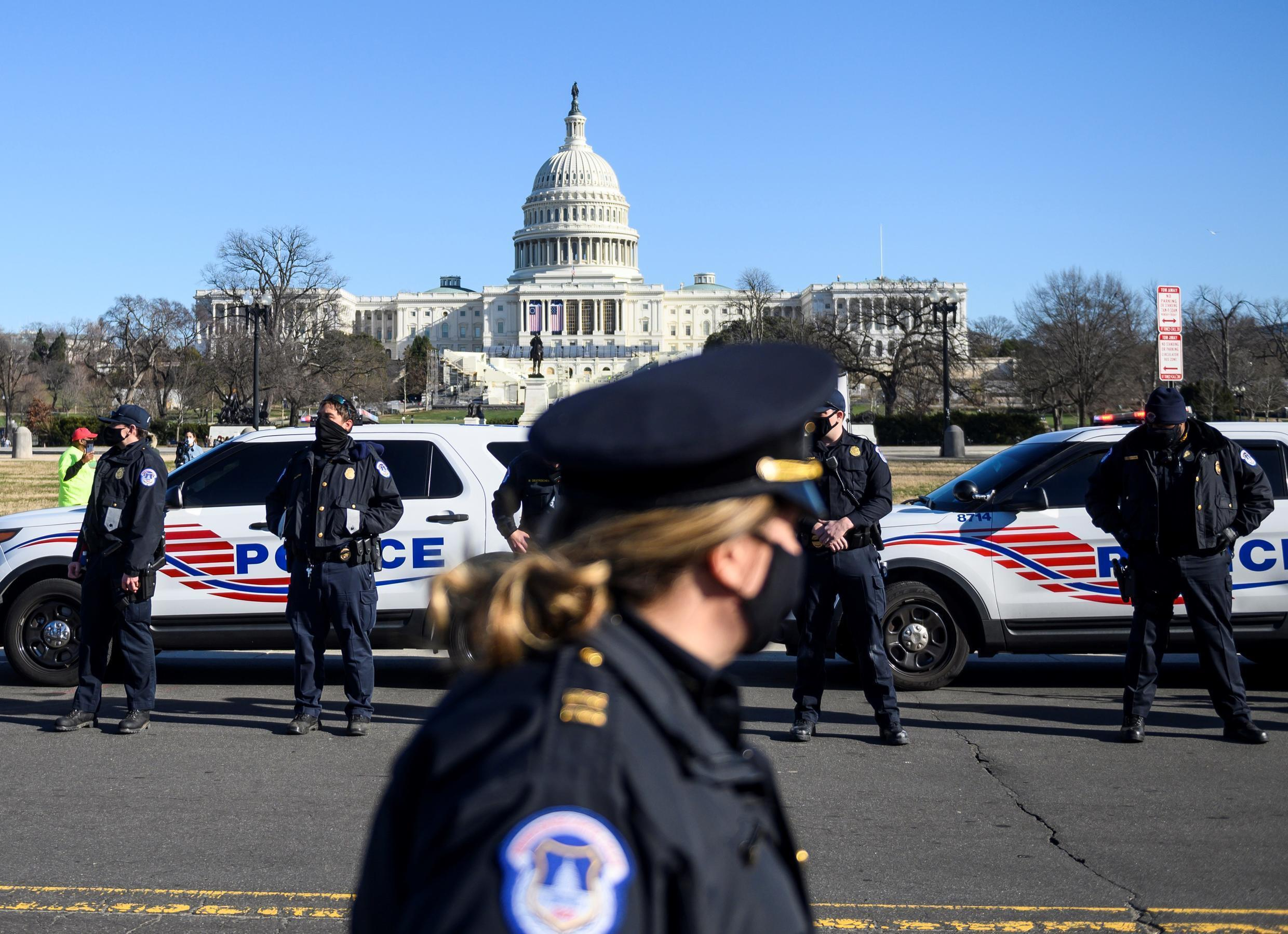 After Donald Trump's supporters last week stormed the Capitol Building, there are fears of fresh unrest in Washington during Joe Biden's inauguration on January 20
