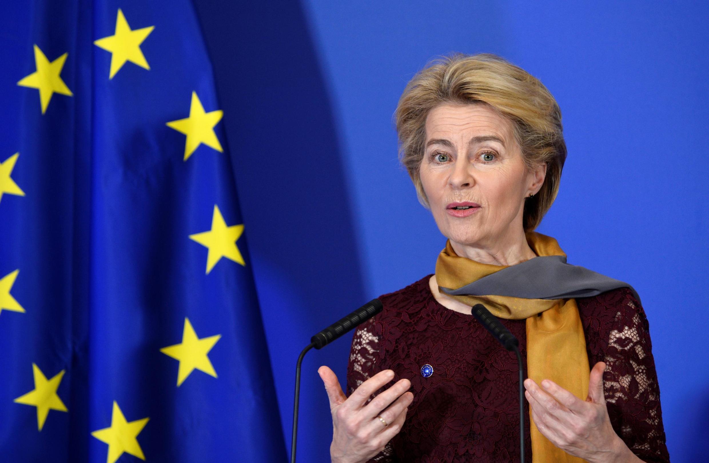 欧盟执委会新任主席冯德莱恩。