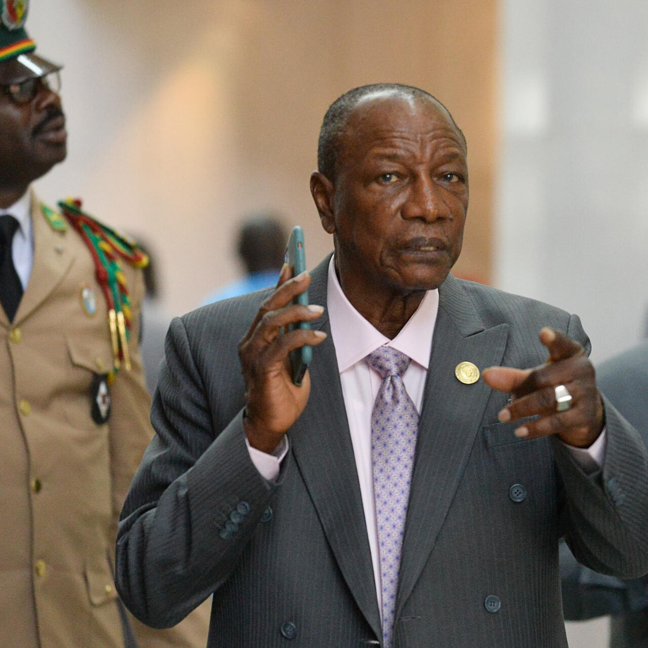 Guinean opposition vow street protests as President Condé goes for third  term
