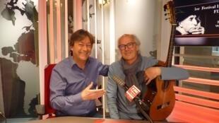 Norberto Pedreira y Jordi Batallé en RFI