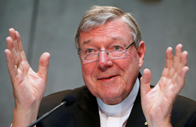Foto de arquivo do cardeal australiano George Pell.