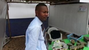 Jean-Christian Diakanou-Matongo, promoteur de la société Apis Congo.