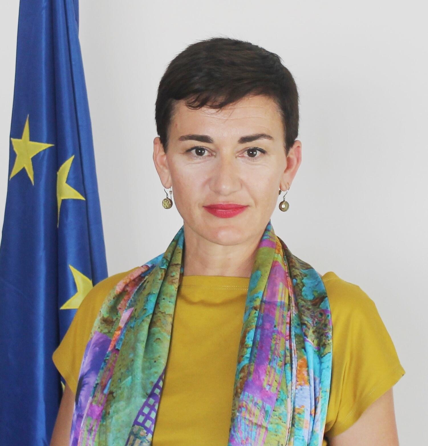Irène Mingasson, ambassadrice de l'Union européenne au Sénégal.