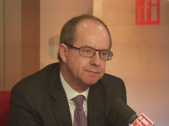 Министр юстиции Франции Жан-Жак Урвоас в студии RFI