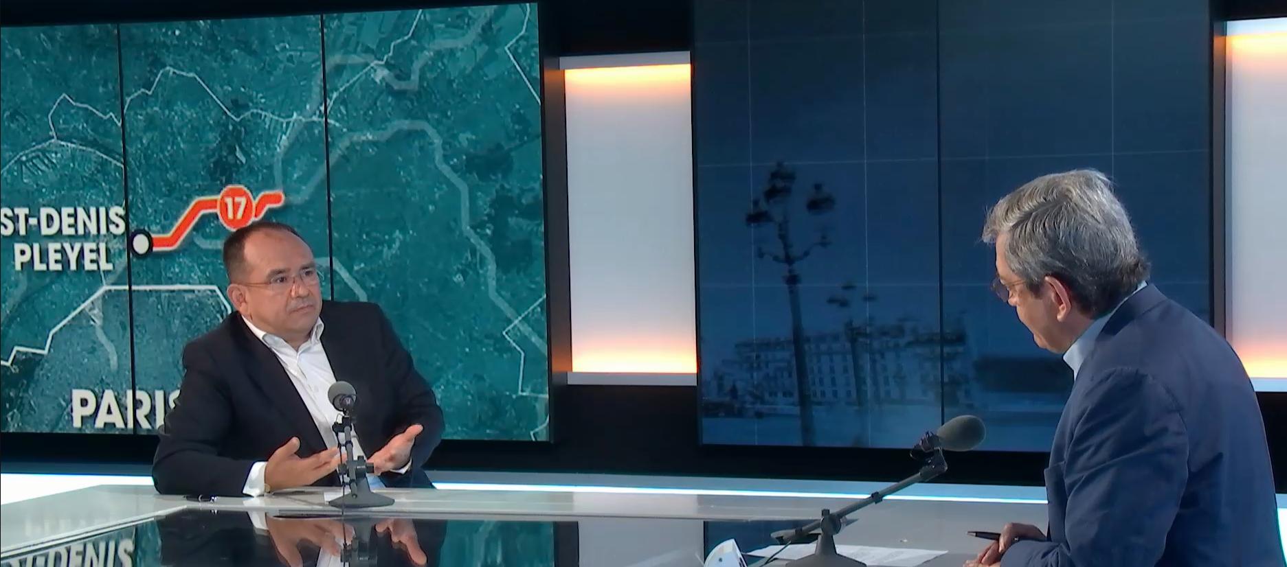 Roberto Romero Aguilar, Concejal de la Región Isla de Francia sobre el proyecto del Gran Paris, invitado de Escala en Paris, Paris, agosto, 2021