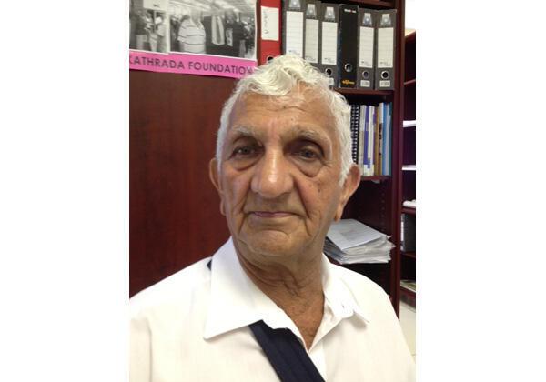 Laloo Chiba, ex-détenu au bagne de Robben Island, a passé dix-huit années de détentions au côté de Mandela.