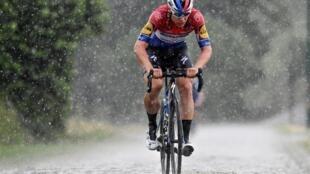 Le cycliste néerlandais Fabio Jakobsen, le 17 juin 2020.