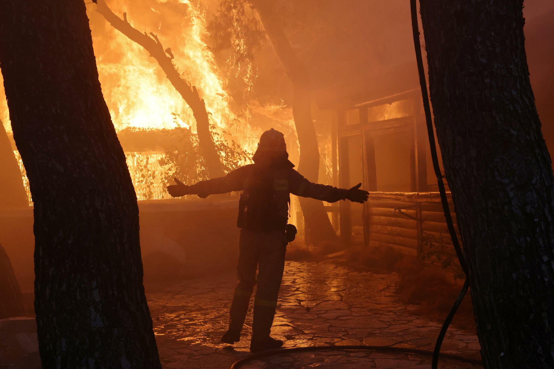 grece incendies