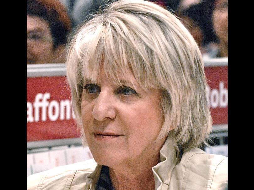 Denise Bombardier, lors du Salon international du livre de Québec, en 2012.