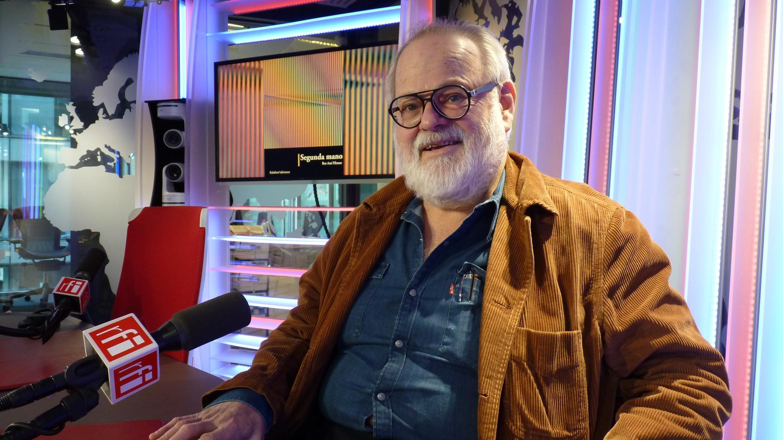 Ben Amí Fihman en los estudios de RFI