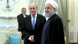 سفر لو دریان، به ایران