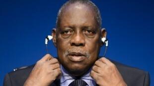 Issa Hayatou, rais wa shirikisho la soka barani Afrika, CAF.