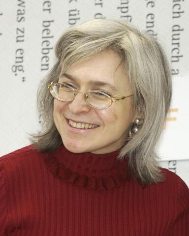 Nữ ký giả người Nga, Anna Politkovskaia, bị ám sát ngày 07/10/2016.