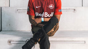 O brasileiro Neguin, integrante do grupo Red Bull All Star.