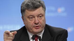 Петр Порошенко на пресс-конференции в Киеве 25/09/2014