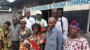 Un groupement de femmes qui gère un périmètre maraicher dans la périphérie de la ville de Kinshasa en RDC.