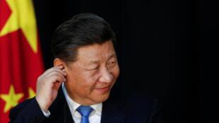 Le président chinois Xi Jinping lors d'une cponférence de presse le 4 décembre 2018.