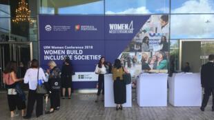 Conférence Women Build 2018.
