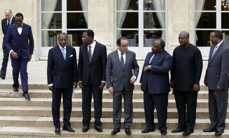 François Hollande a reçu nombre de ses homologues africains, ce 10 novembre 2015, lors de la pré-COP21.