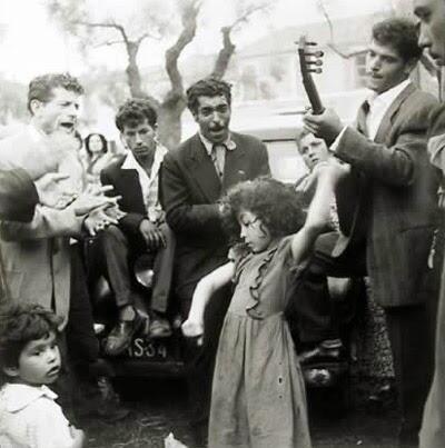 گروهی از کولیان، اسپانیا، حوالی ١٩٣٠