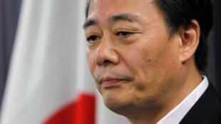 福岛核电站灾难五个月后,日本经产大臣海江田万里2011年8月4日在东京宣布解除三名核能政策高官职务。