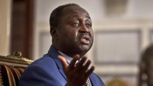 L'ancien président de la République centrafricaine, à Bangui au palais présidentiel le 8 janvier 2013 (image d'illustration).