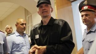 Платон Лебедев по оглашении решения вельского суда 27/07/2011