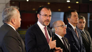 Ministro mexicano das Relações Exteriores, Luis Videgaray Caso, criticou eleição venezuelana ao lado dos representantes da diplomacia da Argentina, Chile e Canadá.