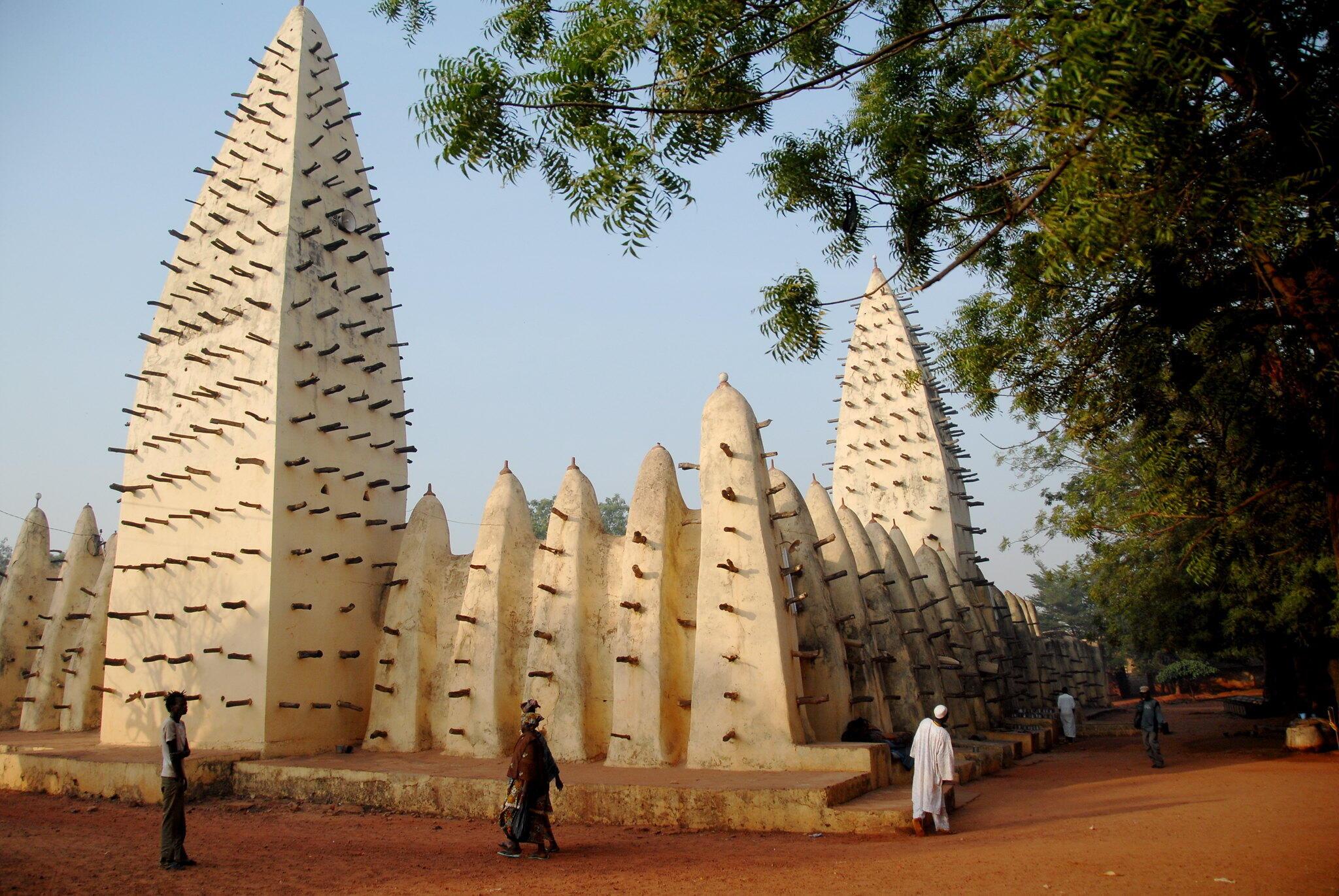La Grande Mosquée de Bobo Dioulasso.