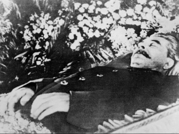 Иосиф Сталин. Москва, 8 марта 1953.