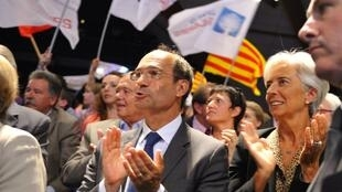 France's Labour Minister Eric Woerth attends UMP youth congress in a Paris suburb, August 31, 2010.