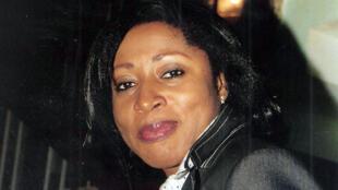 L'avocate franco-camerounaise Lydienne Yen Eyoum, le 6 octobre 2014, après sa condamnation à 25 ans de prison par la justice camerounaise pour détournement de fonds publics.