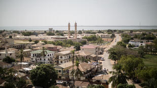 Une vue aérienne de Banjul, la capitale de la Gambie. (Photo d'illustration)