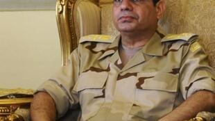 Генерал Абдель Фаттах аль-Сиси, Каир, 22 мая 2013 года