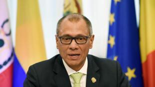 Jorge Glas, el vicepresidente de Ecuador, el pasado 11 de noviembre en Bruselas.