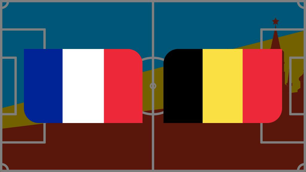 Coupe du monde 2018: vivez France-Belgique en direct