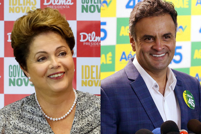 Últimas pesquisas apontam vantagem para a presidente Dilma Rousseff (PT) diante de Aécio Neves (PSDB).