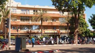 Le siège de la Société nationale d'électricité du Burkina Faso (SONABEL), à Ouagadougou, au Burkina Faso.