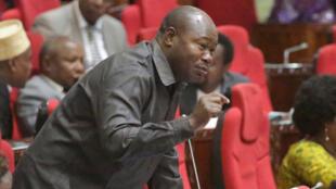 Mwita Waitara wakati huo akiwa mbunge wa Jimbo la Ukonga,Mkoani Dar es salaam
