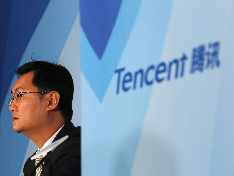 Lãnh đạo tập đoàn Tencent của Trung Quốc trong một hội thảo ở Hồng Kông tháng 3/2015.