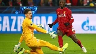 Le Guinéen Naby Keïta a marqué pour Liverpool sur le terrain de Salzbourg, le 10 décembre 2019.