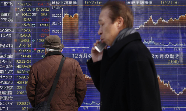存檔圖片:亞洲股市