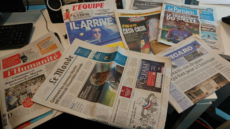 Diários franceses 03.08.2017