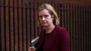 Amber Rudd, bộ trưởng Lao Động Anh thông báo từ chức hôm 07/09/2019.