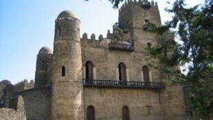 Le château de Ras Mikael Sehul, dans la ville de Gondar en Ethiopie.